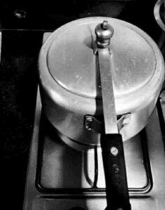 Pressure Cooker Biryani.