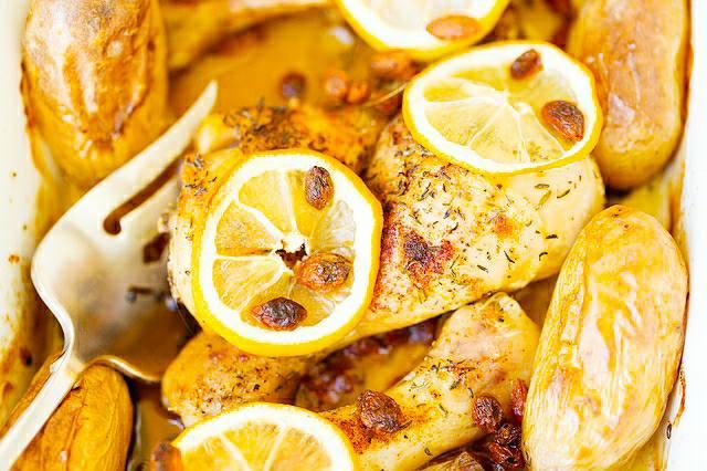 Lemon Chicken.
