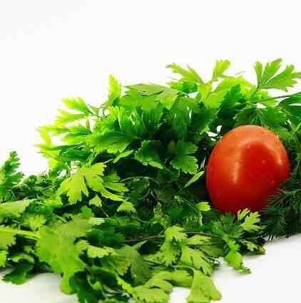 Mutton biryani salad