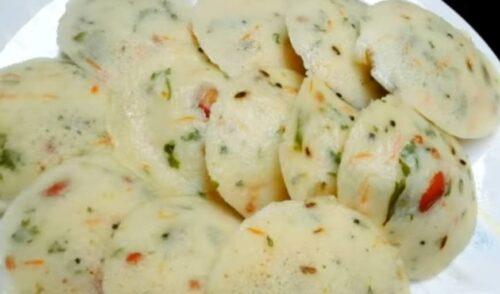 Rava Idli South Indian Food