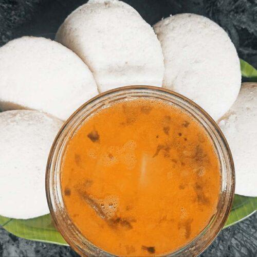 Soft Idli South Indian Food