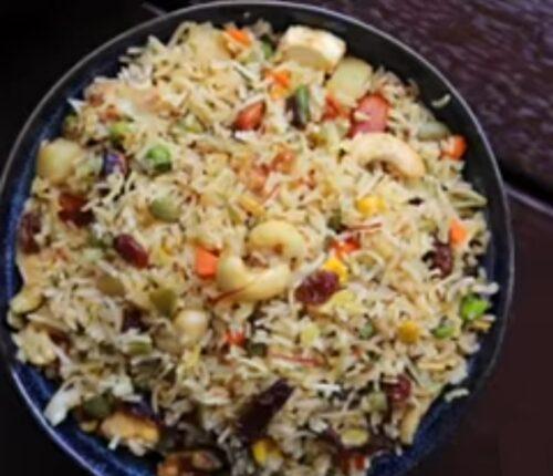 Navratan Pulao recipe